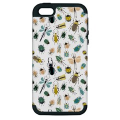 Insect Animal Pattern Apple Iphone 5 Hardshell Case (pc+silicone)