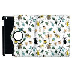 Insect Animal Pattern Apple Ipad 3/4 Flip 360 Case by BangZart