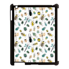 Insect Animal Pattern Apple Ipad 3/4 Case (black) by BangZart