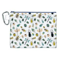 Insect Animal Pattern Canvas Cosmetic Bag (xxl) by BangZart