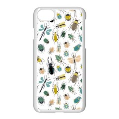Insect Animal Pattern Apple Iphone 7 Seamless Case (white) by BangZart