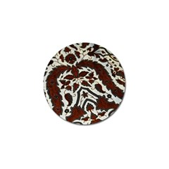 Javanese Batik Golf Ball Marker (10 Pack) by BangZart