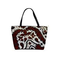 Javanese Batik Shoulder Handbags by BangZart