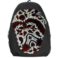 Javanese Batik Backpack Bag by BangZart