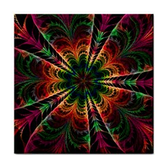 Kaleidoscope Patterns Colors Tile Coasters