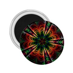 Kaleidoscope Patterns Colors 2 25  Magnets