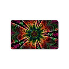 Kaleidoscope Patterns Colors Magnet (name Card)
