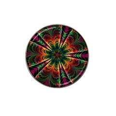 Kaleidoscope Patterns Colors Hat Clip Ball Marker (4 Pack) by BangZart