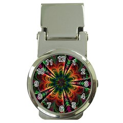 Kaleidoscope Patterns Colors Money Clip Watches by BangZart