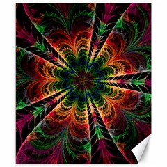 Kaleidoscope Patterns Colors Canvas 8  X 10  by BangZart
