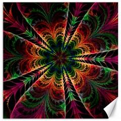 Kaleidoscope Patterns Colors Canvas 12  X 12