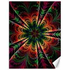 Kaleidoscope Patterns Colors Canvas 18  X 24