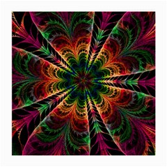 Kaleidoscope Patterns Colors Medium Glasses Cloth by BangZart