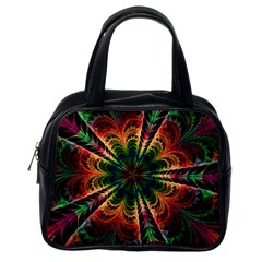 Kaleidoscope Patterns Colors Classic Handbags (one Side) by BangZart