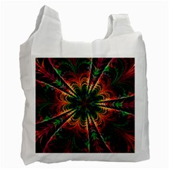 Kaleidoscope Patterns Colors Recycle Bag (two Side)