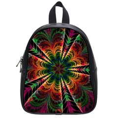Kaleidoscope Patterns Colors School Bags (small)