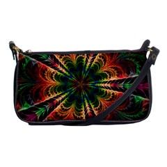 Kaleidoscope Patterns Colors Shoulder Clutch Bags by BangZart