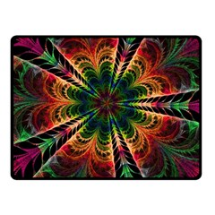 Kaleidoscope Patterns Colors Fleece Blanket (small) by BangZart