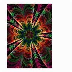 Kaleidoscope Patterns Colors Small Garden Flag (two Sides) by BangZart