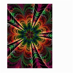Kaleidoscope Patterns Colors Large Garden Flag (two Sides) by BangZart