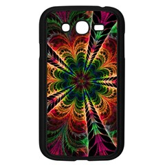 Kaleidoscope Patterns Colors Samsung Galaxy Grand Duos I9082 Case (black)