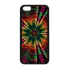 Kaleidoscope Patterns Colors Apple Iphone 5c Seamless Case (black) by BangZart