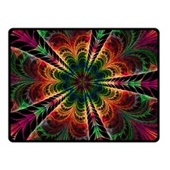 Kaleidoscope Patterns Colors Double Sided Fleece Blanket (small)  by BangZart