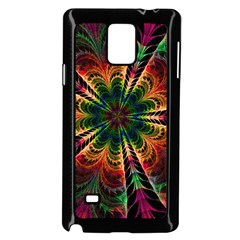 Kaleidoscope Patterns Colors Samsung Galaxy Note 4 Case (black) by BangZart