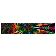 Kaleidoscope Patterns Colors Flano Scarf (small) by BangZart