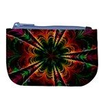 Kaleidoscope Patterns Colors Large Coin Purse Front