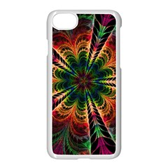 Kaleidoscope Patterns Colors Apple Iphone 7 Seamless Case (white) by BangZart