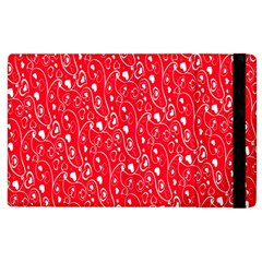 Heart Pattern Apple Ipad 3/4 Flip Case by BangZart