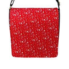 Heart Pattern Flap Messenger Bag (l)  by BangZart