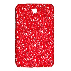 Heart Pattern Samsung Galaxy Tab 3 (7 ) P3200 Hardshell Case  by BangZart