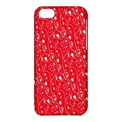 Heart Pattern Apple Iphone 5c Hardshell Case