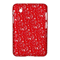 Heart Pattern Samsung Galaxy Tab 2 (7 ) P3100 Hardshell Case  by BangZart
