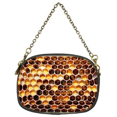 Honey Honeycomb Pattern Chain Purses (one Side)