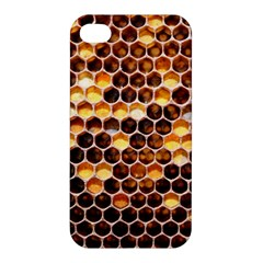 Honey Honeycomb Pattern Apple Iphone 4/4s Premium Hardshell Case by BangZart