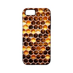 Honey Honeycomb Pattern Apple Iphone 5 Classic Hardshell Case (pc+silicone) by BangZart