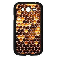 Honey Honeycomb Pattern Samsung Galaxy Grand Duos I9082 Case (black)