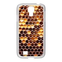 Honey Honeycomb Pattern Samsung Galaxy S4 I9500/ I9505 Case (white)