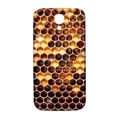 Honey Honeycomb Pattern Samsung Galaxy S4 I9500/i9505  Hardshell Back Case