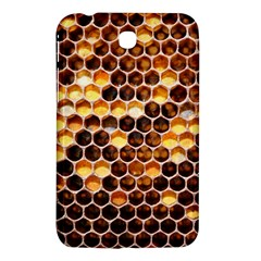 Honey Honeycomb Pattern Samsung Galaxy Tab 3 (7 ) P3200 Hardshell Case  by BangZart