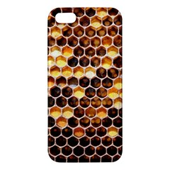 Honey Honeycomb Pattern Iphone 5s/ Se Premium Hardshell Case by BangZart