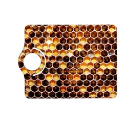 Honey Honeycomb Pattern Kindle Fire Hd (2013) Flip 360 Case by BangZart