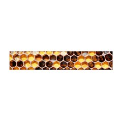Honey Honeycomb Pattern Flano Scarf (mini)