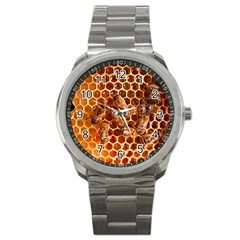 Honey Bees Sport Metal Watch by BangZart