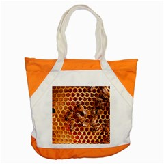 Honey Bees Accent Tote Bag by BangZart