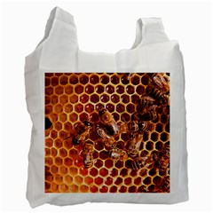 Honey Bees Recycle Bag (one Side) by BangZart