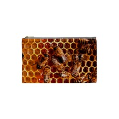 Honey Bees Cosmetic Bag (small)  by BangZart